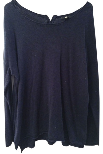 Preload https://item5.tradesy.com/images/h-and-m-hm-zippered-back-zipper-sweater-1809584-0-0.jpg?width=400&height=650