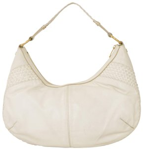 Saint Laurent Ysl Yves Hobo Woven Shoulder Bag