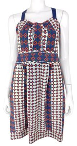 Marc by Marc Jacobs Silk Geometric Dress