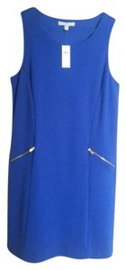 Banana Republic short dress Royal Blue Shift Shift on Tradesy