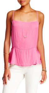 Free People Dobby Top PINK
