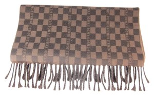Fendi Fendi Brown check Wool scarf