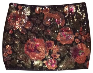 Haute Hippie Skirt Black/Multi