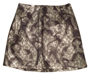 H&M Mini Skirt Silver