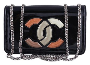 Chanel Multicolor Patent Cross Body Bag