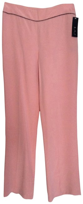 Preload https://item2.tradesy.com/images/eci-new-york-pink-dotty-705163-30794-straight-leg-pants-size-4-s-27-1809796-0-1.jpg?width=400&height=650