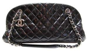 Chanel Just Mademoiselle Medium Dark Shoulder Bag