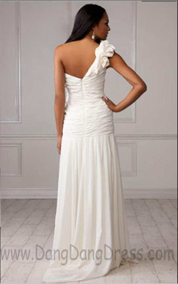 Priscilla of boston ivory silk style 1106 destination for Where to buy a wedding dress in boston