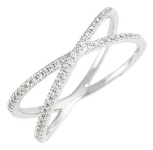 Other Nordstrom Retail $900 -1/2ct 14k Cross over diamond bands