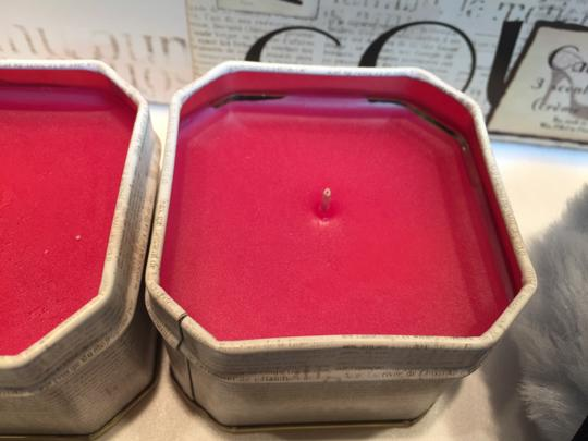 Other Couture Candle Trio & Lavender Powder Puff; Creme Brulee Scent [ Roxanne Anjou Closet ]