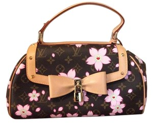 Louis Vuitton Limited Edition Satchel in Cherry blossom monogram