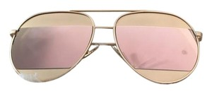 Other- Dior Inspired Rose Gold Sunglasses/ Pink Sunglasses/ Pink Aviator Sunglasses