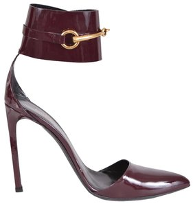 Gucci Heels Heels Burgundy Pumps