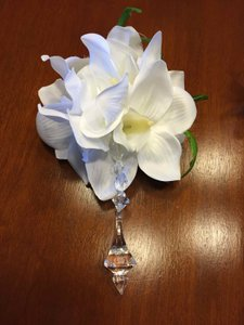 White Silk Floral Decorations