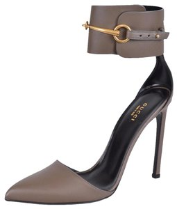 Gucci Heels Pumps Pumps Heels Gray Field Mules