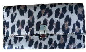Mac & Jac Animal print nylon wallet