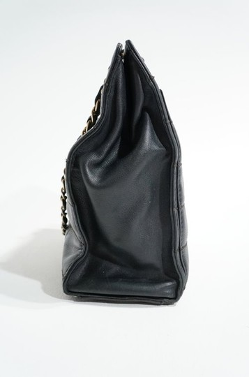 Chanel Lambskin Leather Quilted Chain Handle Tote Shopper Handbag Purse Shoulder Bag Image 7