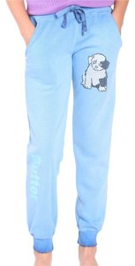 Butter Kids Butter Supersoft Logo Sweatpants with Adorable Puppy Applique