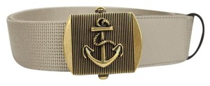 Gucci New Gucci Fabric Belt Anchor Brass Buckle 90/36 375191 1523