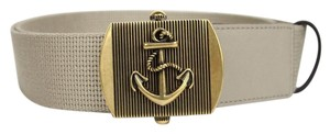 Gucci New Gucci Fabric Belt Anchor Brass Buckle 105/42 375191 1523