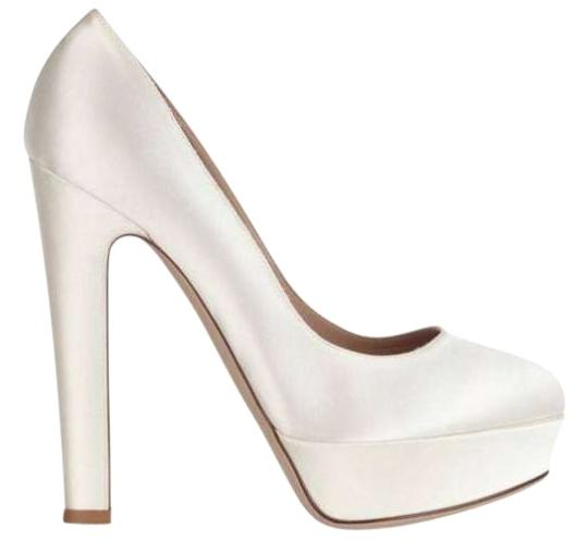 Valentino White Pumps
