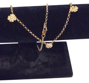 Other Gold flower necklace