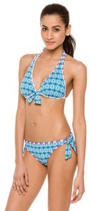 Tommy Bahama Tommy Bahama Blue Reversible Halter Top Size S/P BNWT Orig $94.00
