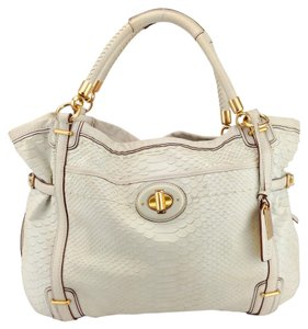 Coach Python Leather Snake Exotic Shoulder Bag