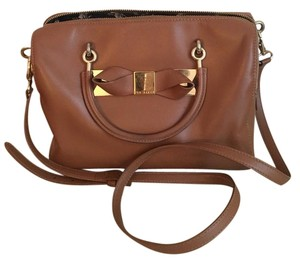 Ted Baker Satchel in Light Brown