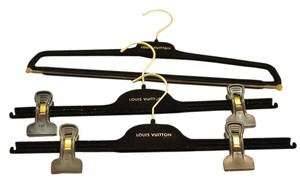 Louis Vuitton Set of 3 Velvet LV hangers