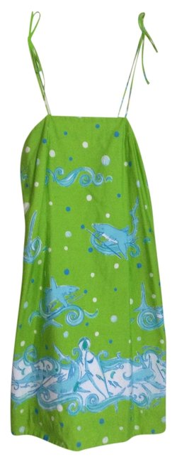 Preload https://item4.tradesy.com/images/lilly-pulitzer-lime-green-sharks-knee-length-short-casual-dress-size-10-m-1810383-0-0.jpg?width=400&height=650