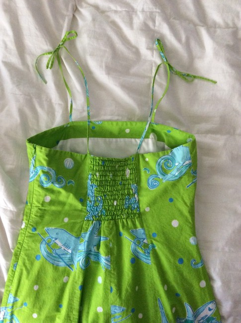 Lilly Pulitzer short dress Lime Green on Tradesy
