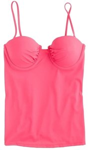 J.Crew J.CREW RUCHED UNDERWIRE SWING TOP IN PINK BNWT SIZE 10 Orig $62.00