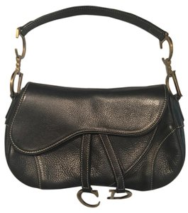 Dior Christian Double Saddle Shoulder Bag
