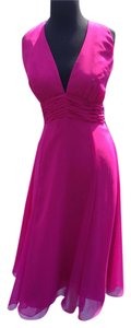 Wtoo Chiffon Halter Pink Dress