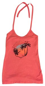 Billabong Orange Halter Top