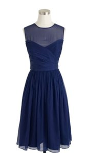 J.Crew Dark Cove (navy Blue) Dress