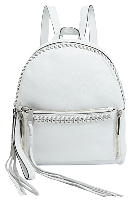Item - New Small Lola Chain White Leather Backpack