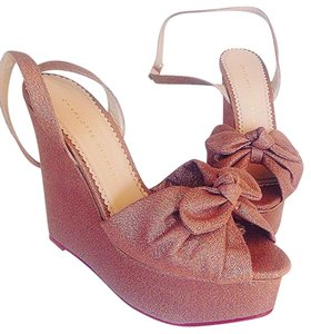 Charlotte Olympia Blush pink Wedges