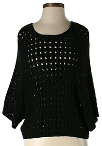 BCBGMAXAZRIA Crochet Oversized Sweater
