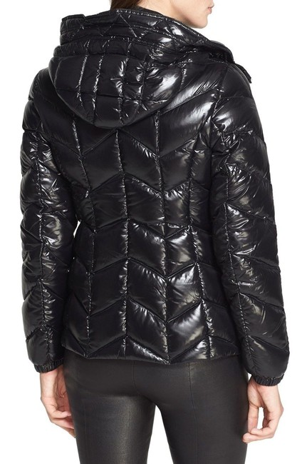 c8e190922 Moncler Black Badete Hooded Down Puffer Coat Size 2 (XS) 46% off retail