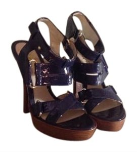 L.A.M.B. Cobalt Blue Sandals