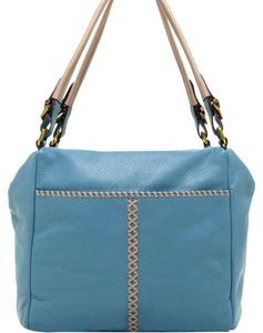 orYANY Satchel in Azzuro Multi (Blue)