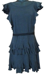 Marc by Marc Jacobs short dress Grey Ruffled Tiered Summer on Tradesy