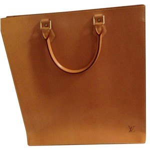 Authentic Louis Vuitton leather tote Tote in Louis Vuitton Tan