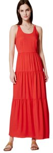 Tomato Red Maxi Dress by Ann Taylor LOFT The Maxi Strappy