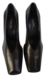 Calvin Klein Collection Leather Black Pumps