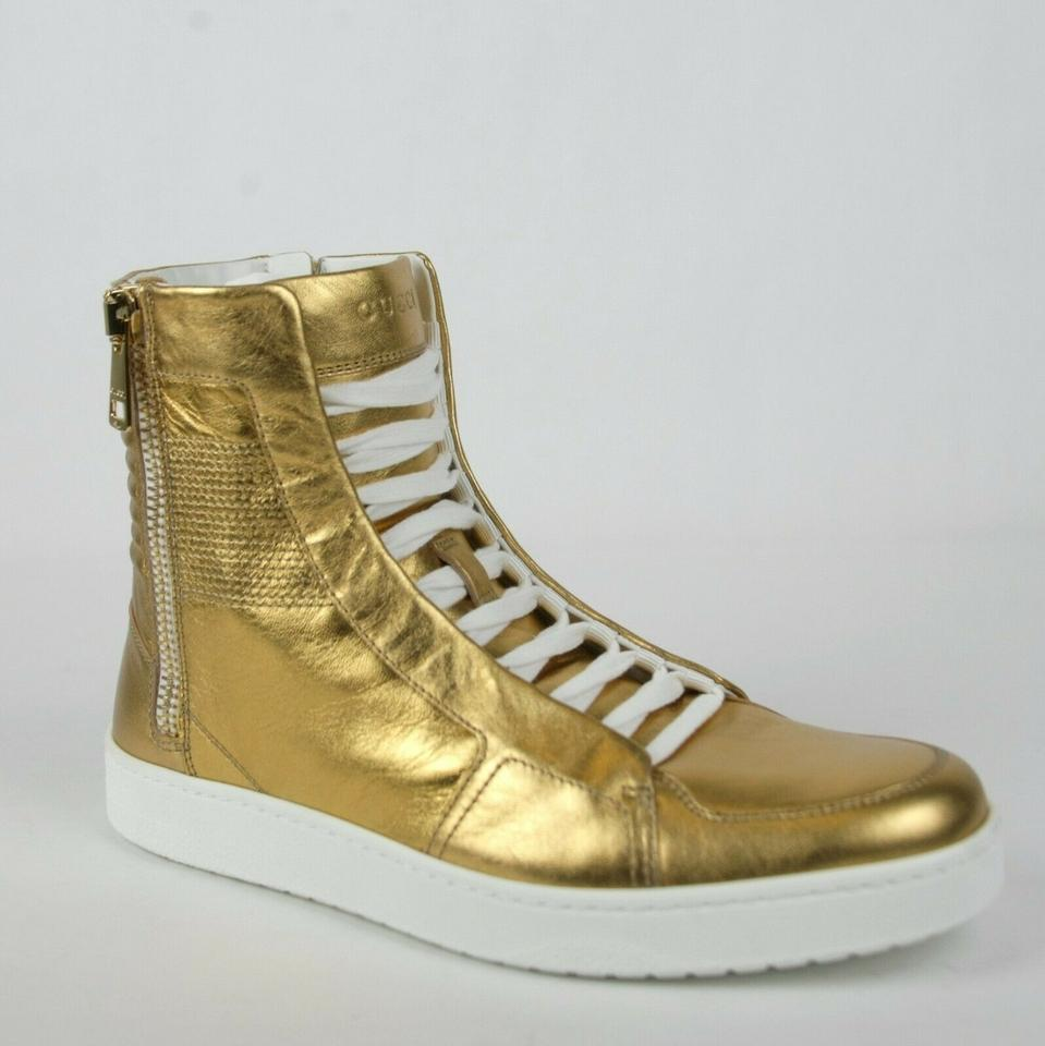 8eb787807a8d Gucci Gold Men's High-top Limited Edition Size 5 G / Us 5.5 376193 8061 ...