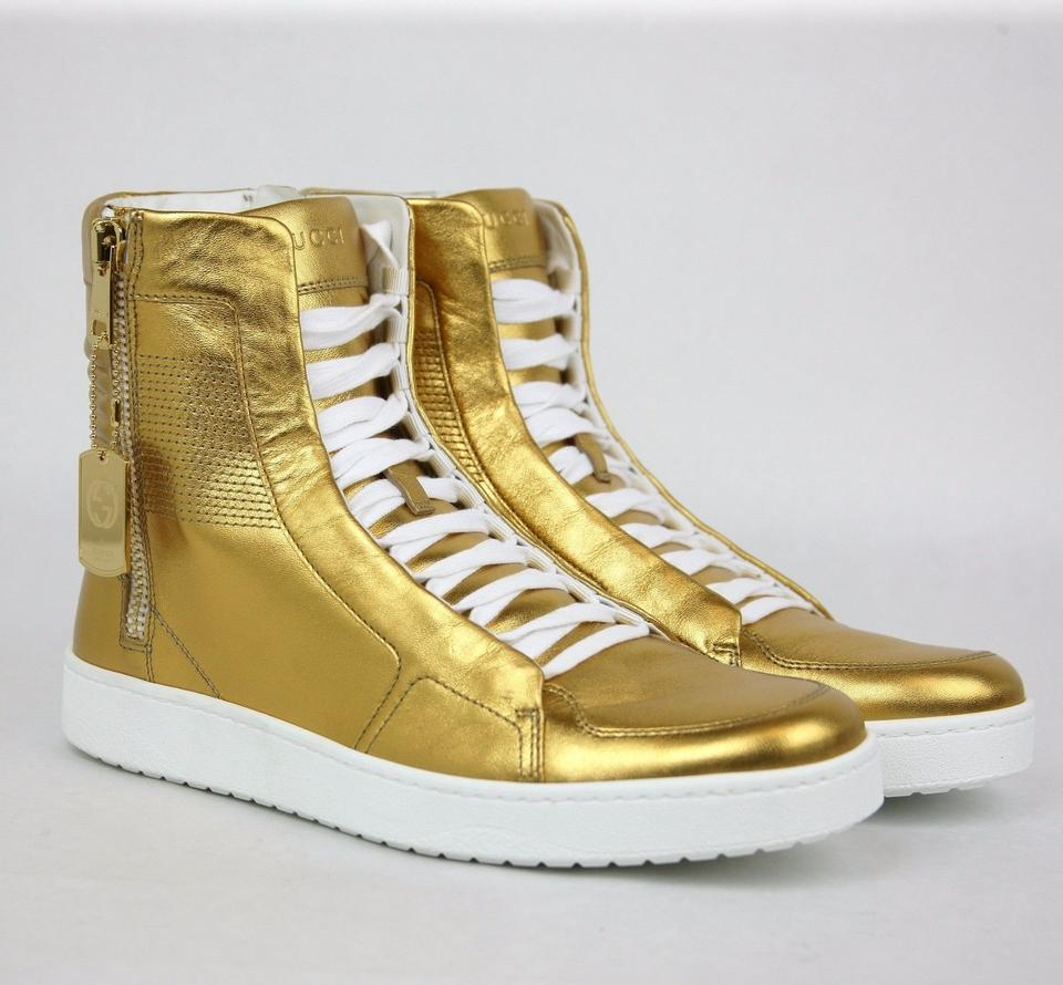 1018fbb52d9d Gucci gold mens high top limited edition size jpg 960x890 Yellow gucci boots
