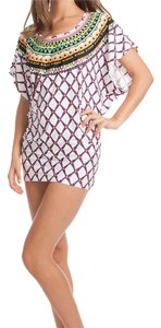 Trina Turk TT5FN50 KON TIKI PRINT TUNIC SWIM TOP / DRESS